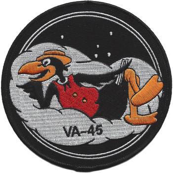 VA-45 Attack Squadron Patch Hook And Loop'
