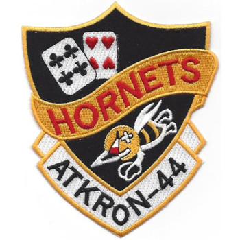 VA-44 Attack Squadron Patch Hook And Loop