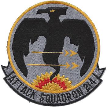 VA-214 Attack Squadron Patch