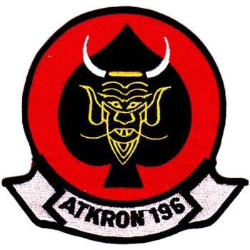 VA-196 Aviation Attack Squadron Patch