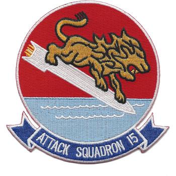 VA-15 Navy Attack Squadron Patch