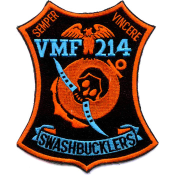 VMF-214 Fighter Squadron Swashbucklers Patch