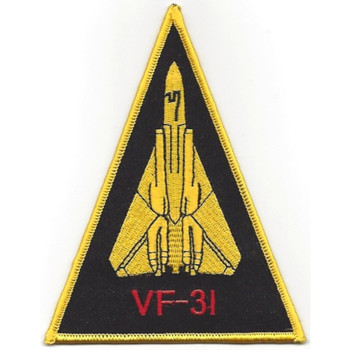 VF-31 F-14 Tomcat Triangle Patch