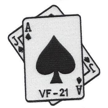 VF-21 Fighter Squadron Patch WWII Blackjacks