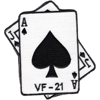 VF-21 Fighter Squadron Patch Hook And Loop