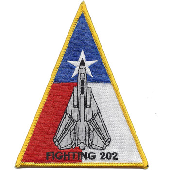 VF-202 F-14 Triangle Patch