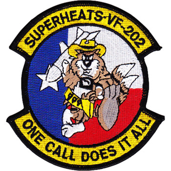 VF-202 Aviation Fighter Squadron Superheats Patch