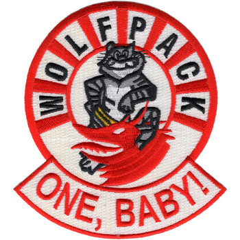 VF-1 F-14 Tomcat Patch Wolfpack One, Baby