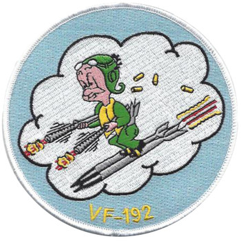 VF-192 Fighter Squadron One Nine Two Patch - Version A