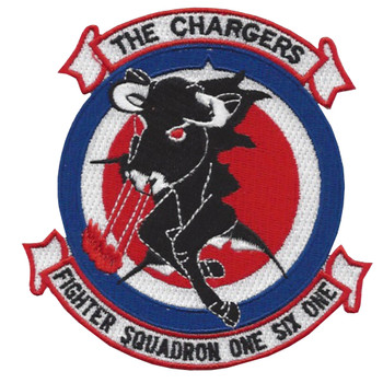 VF-161 Fighter Squadron One Six One Patch - Version B