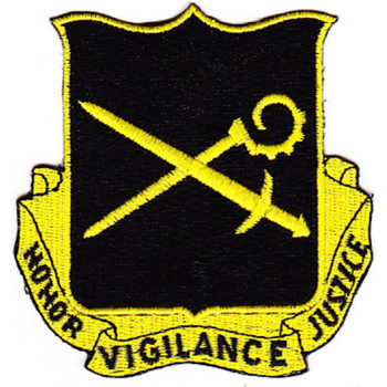 385th Military Police Battalion Patch Black Version
