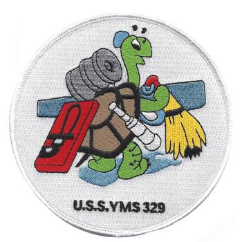 USS YMS-329 Motor Mine Sweeper Patch