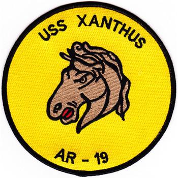USS Xanthus AR-19 Repair Ship Patch