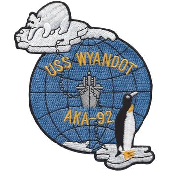 USS Wyandot AKA-92 Patch