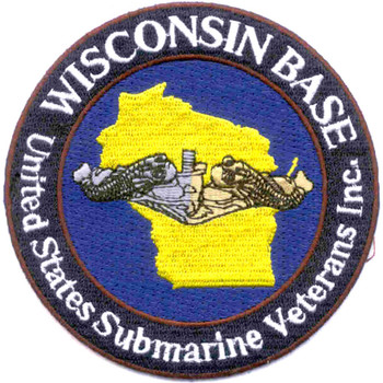 USS Wisconsin Veterans Submarine Base Patch