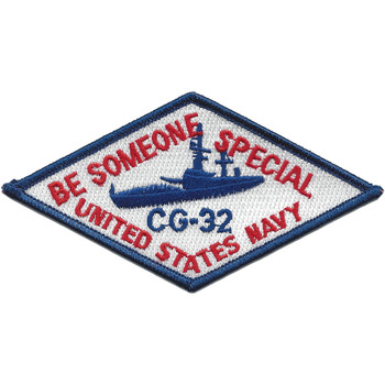USS William H. Standley CG-32 Be Someone Special Patch