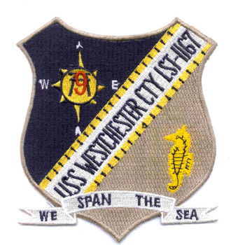 USS Westchester County LST-1167 Patch