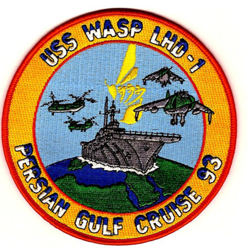 USS Wasp LHD-1 Patch - Version A