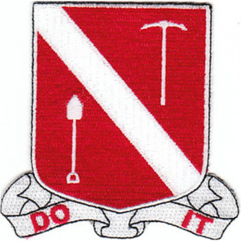383rd Engineering Battalion Patch