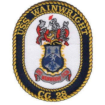 USS Wainwright CG-28 Patch