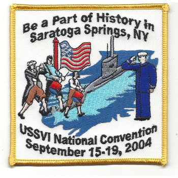 USSVI National Convention Saratoga Springs 2004 Patch