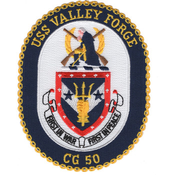 USS Valley Forge CG-50 Patch