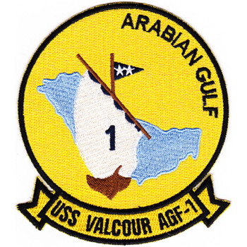USS Valcour AGF-1 Patch