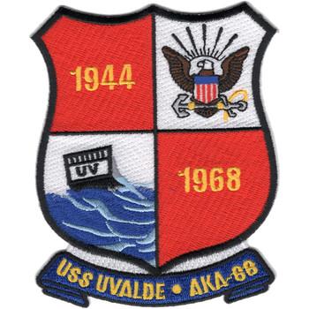 USS Uvalde AKA-88 Patch