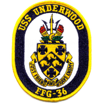 USS Underwood FFG-36 Patch