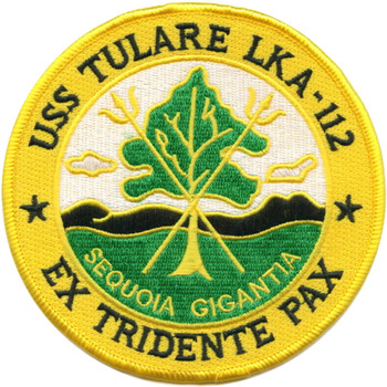 USS Tulare LKA-112 Patch