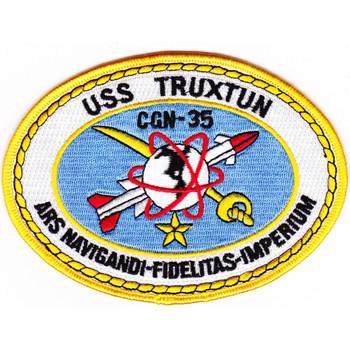 USS Truxtun CGN-35 Patch