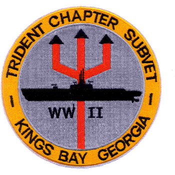 USS Trident Chapter Veterans Base Kings Bay Georgia Patch
