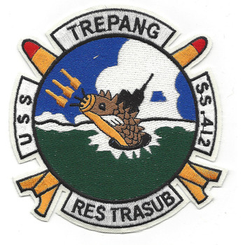 USS Trepang SS-412 Diesel Electric Submarine Patch