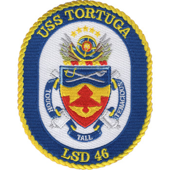 USS Tortuga LSD-46 Patch