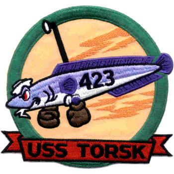 USS Torsk SS-423 Patch Version A