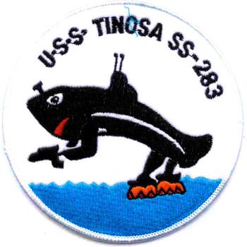 USS Tinosa SS-283 Patch Version B