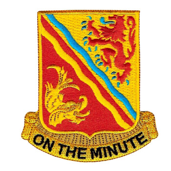 37th Field Artillery Regiment Patch