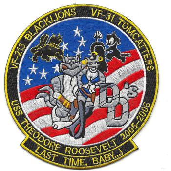 USS Theodore Roosevelt CVN-71, VF-213, VF-31 Patch