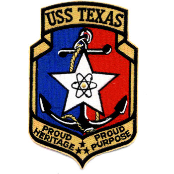 USS Texas CGN-39 Nuclear Guided Missile Cruiser Patch