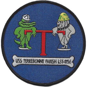 USS Terrebonne County LST-1156 Patch