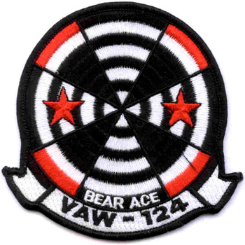 VAW-124 Naval Airborne Early Warning Squadron Patch