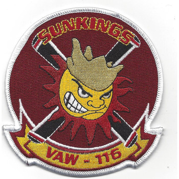 VAW-116 Patch Sunkings