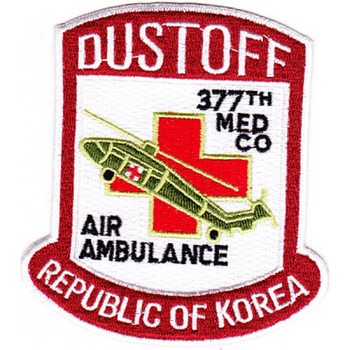 377th Aviation Medical Company Air Ambulance Patch