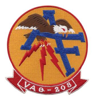 VAQ-208 Vertical Tactical Warfare Squadron Two Zero Eight Patch