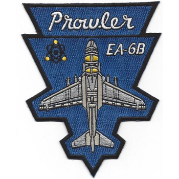 VAQ-139 Electronic Attack Squadron Patch EA-6B Prowler
