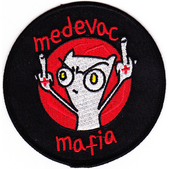377th Avaiation Medical Company Dustoff Patch