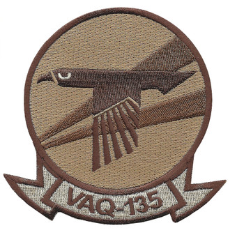 VAQ-135 Electronic Attack Squadron Desert Patch