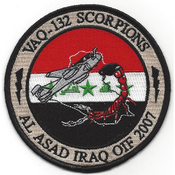 VAQ-132 Electronic Attack Squadron Patch