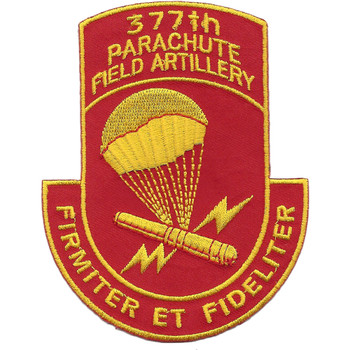 377th Airborne Field Artillery Battalion Patch