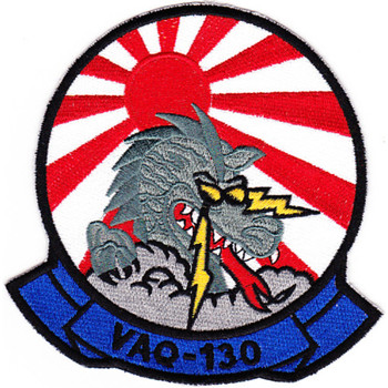 VAQ-130 Electronic Attack Squadron Japan Patch